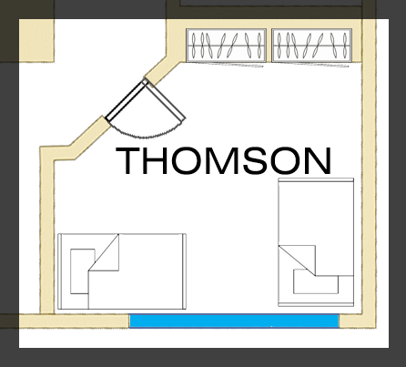 Floorplan of Thomson Room