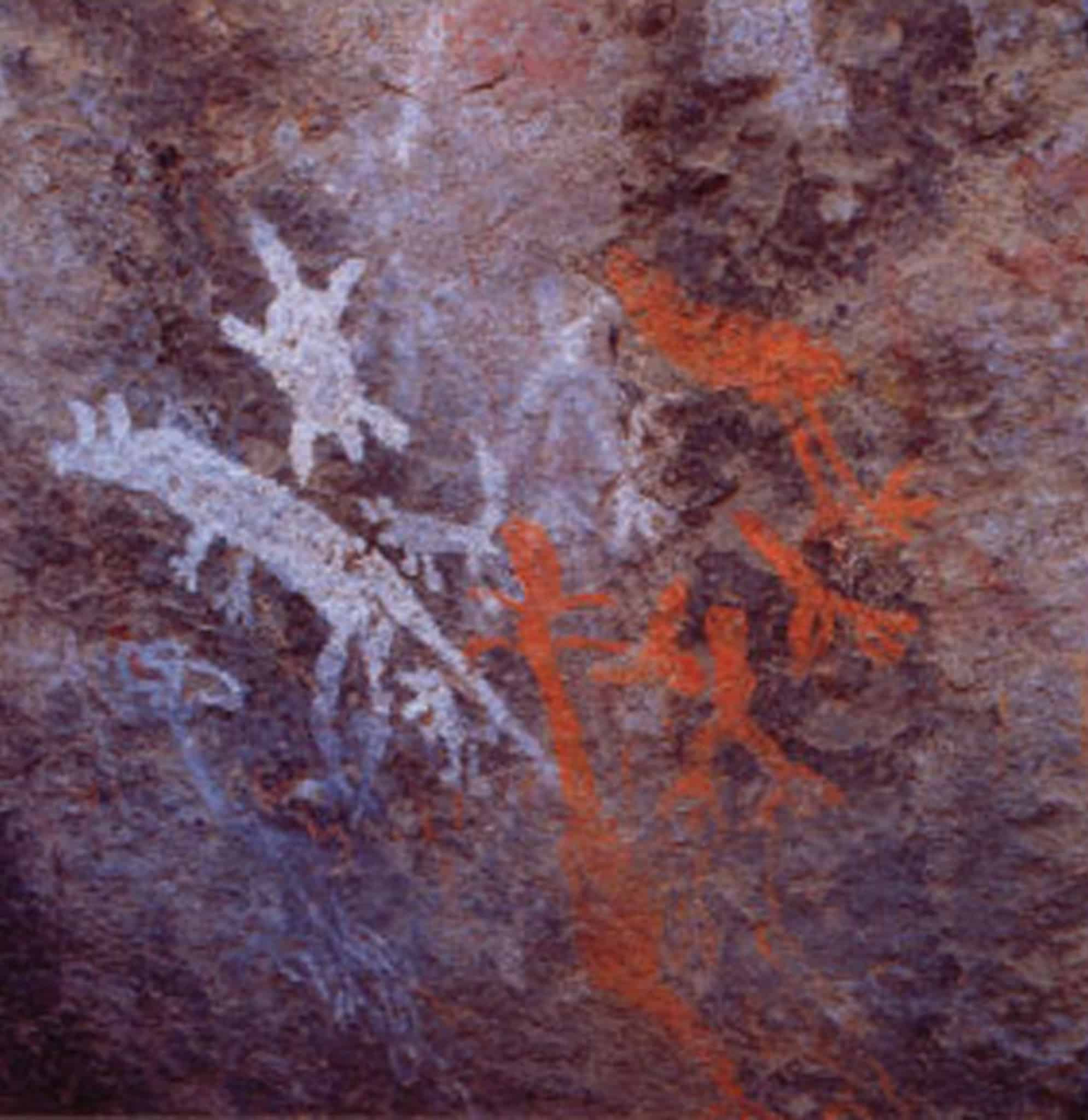 Aboriginal rock art at Yankee Hat