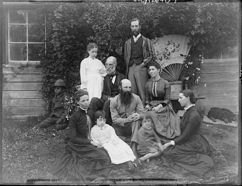 The de Salis family at Cuppacumbalong c.1890